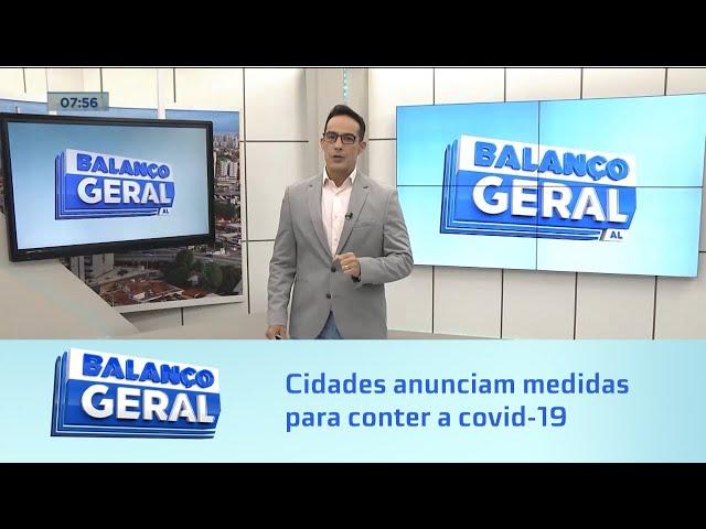 Covid-19: Ouro Branco, Maravilha e Poço das Trincheiras anunciam medidas para conter doença