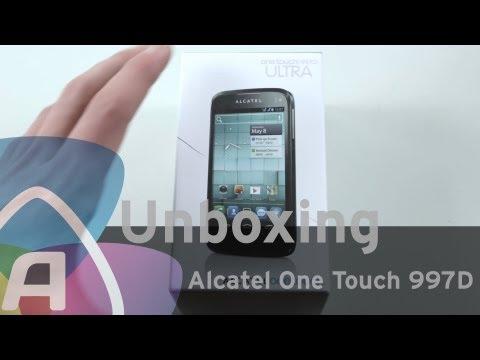 Alcatel One Touch 997D unboxing (Dutch)