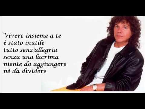 BELLA SENZ'ANIMA Riccardo Cocciante   testo