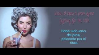 Idle Teen - Marina and The  Diamons (Lyrics/Traducción)
