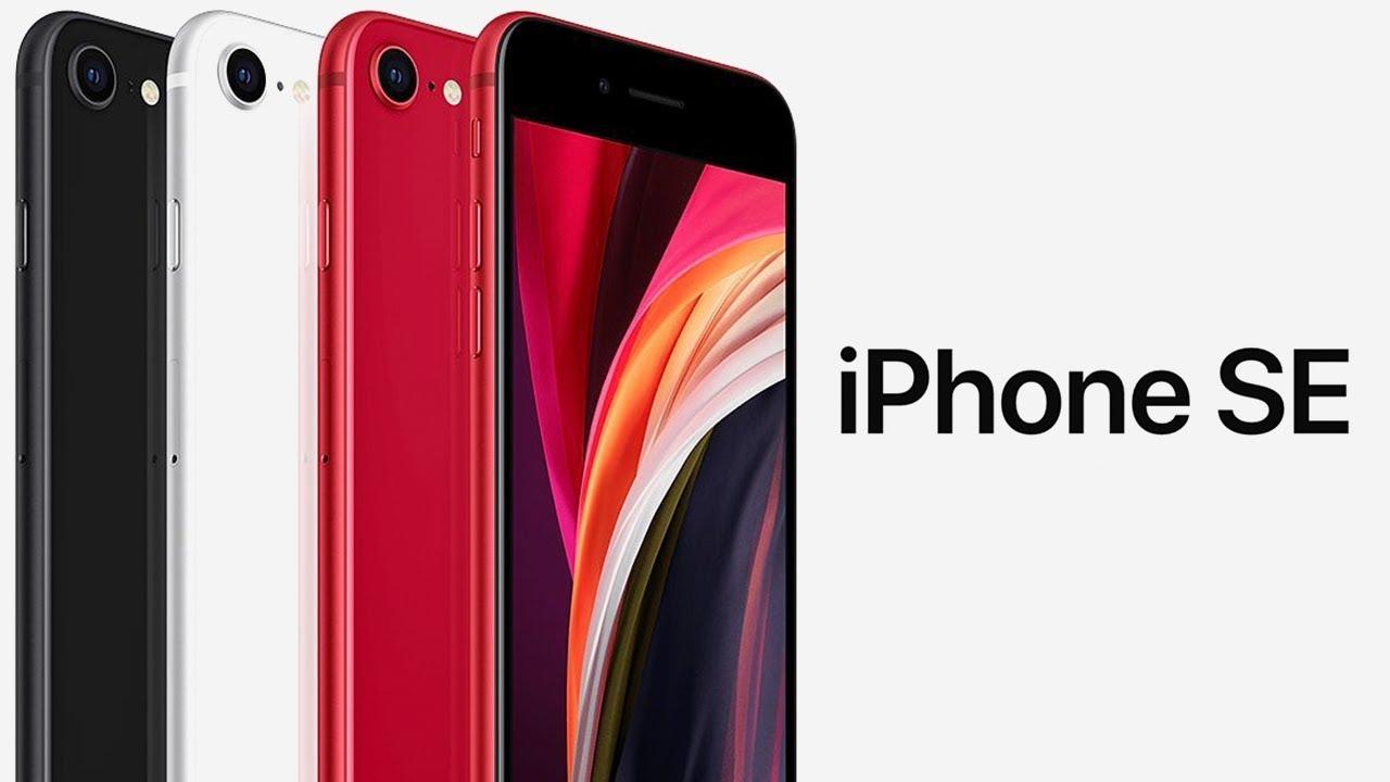 iPhone SE представлен ОФИЦИАЛЬНО –iPhone SE 2020 (iPhone 9, iPhone SE 2)