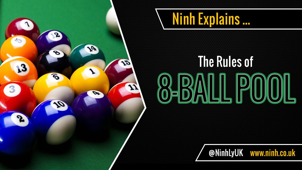The Rules Of 8 Ball Pool Eight Ball Pool Explained Youtube