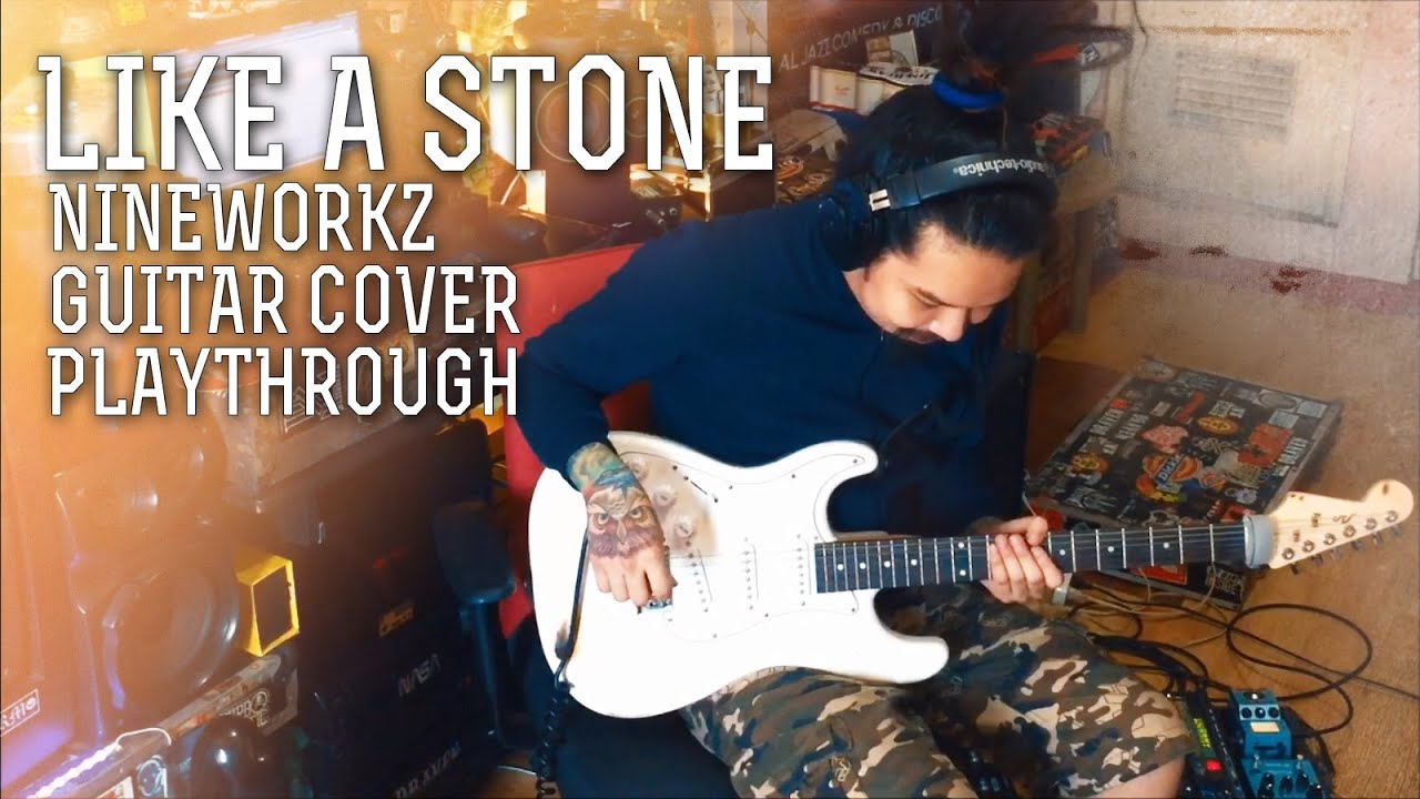 """Download Audioslave -  """"Like A Stone"""" (Nineworkz Guitar Cover / Playthrough)"""