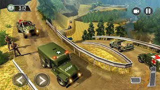 US Army Ambulance Driving Game : Transport Games Android Gameplay screenshot 1