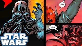 Two Inquisitors That CELEBRATED Too EARLY Against Vader!! - Star Wars Comics Explained
