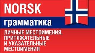 Норвежский язык. Личные местоимения, притяжательные и указательные местоимения. Елена Шипилова