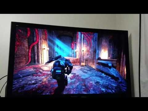 Gears of war 4 on plasma viera vt30
