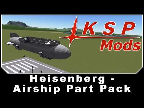 KSP Mods - Heisenberg - Airship Part Pack