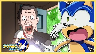 THIS IS TOO GOOD!! Sonic Reacts Sonic The Hedgehog Parody Animation - Movie Shenanigans!
