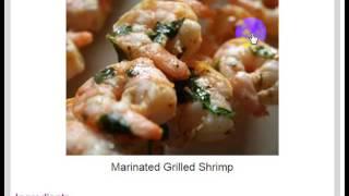 Shrimp Recipes » Marinated Grilled Shrimp - Recipep