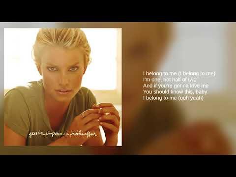 Jessica Simpson: I Belong To Me Bonus Track Lyrics
