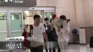 Gambar cover 20130916 SHINee (without Minho) arrives at Gimpo Airport from Japan