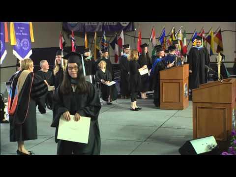 2015 University of St. Thomas Graduate Commencement Ceremony