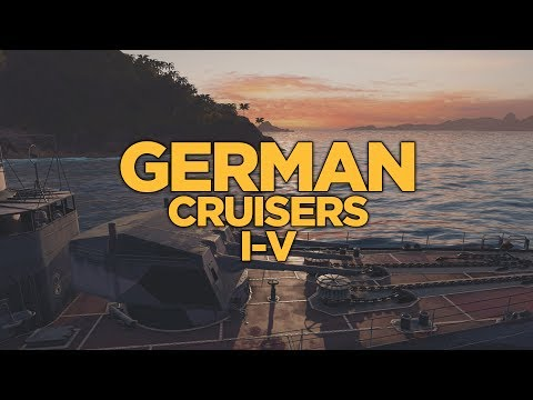 World of Warships - German Cruisers I-V