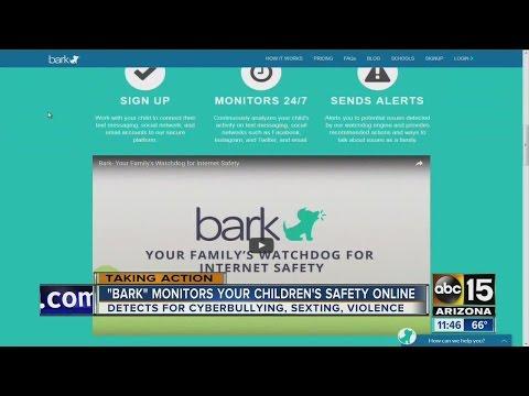 'Bark' monitors your children's safety online