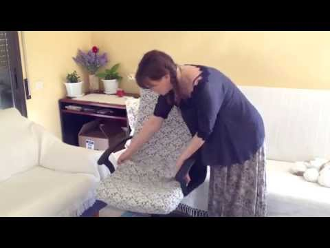Как сшить чехол на компьютерное кресло