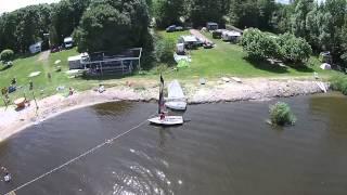 Watersportcamping Heeg vanuit de lucht