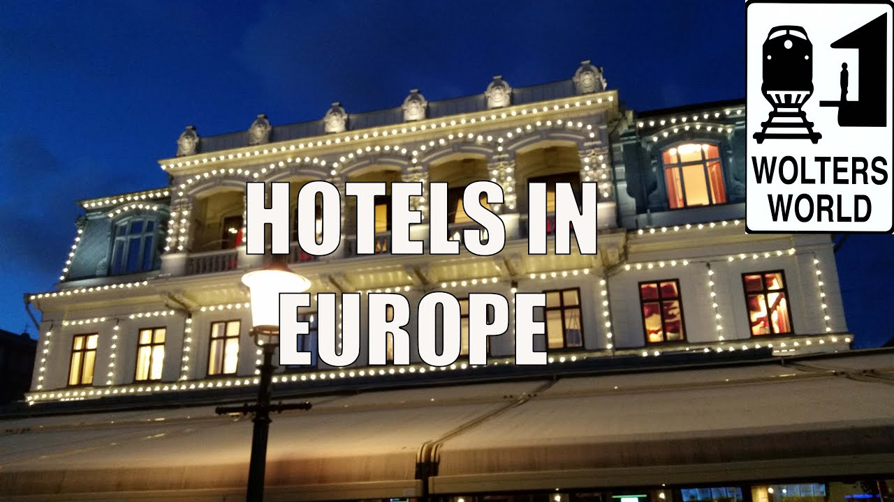 European hotels what you should know about hotels in for Top design hotels europa