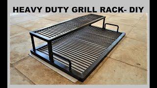 HEAVY DUTY BBQ GRILL RACK - DIY