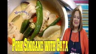 Pork Sinigang with Gata