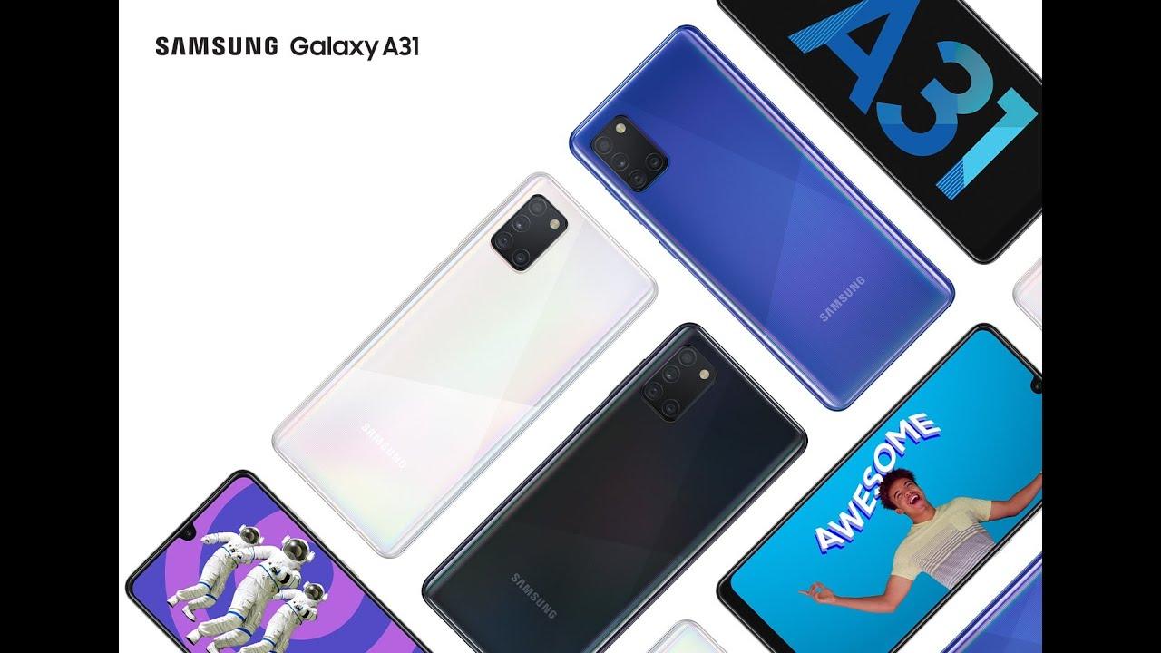 Samsung Galaxy A31 Kutu Açılımı