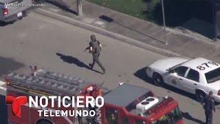 Policía detona explosivos en San Bernardino, California | Noticiero | Noticias Telemundo
