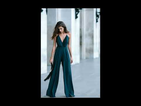 Видео Комбинезон женский вечерний на свадьбу