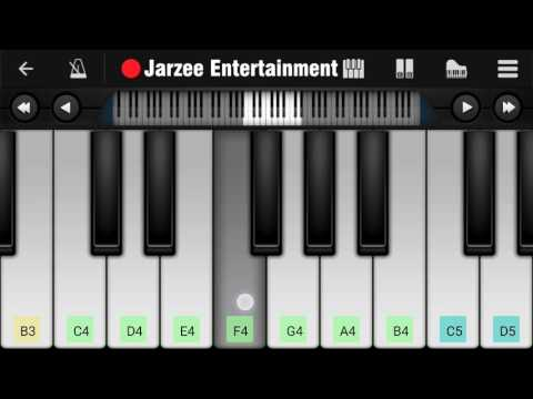 Soch Na Sake (Airlift), Arijit Singh - Slow Version Easy Mobile Perfect Piano Tutorial