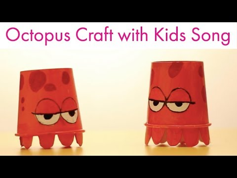 Hindi Rhymes for Children | Informative Octopus I Animal Kids Song in HIndi