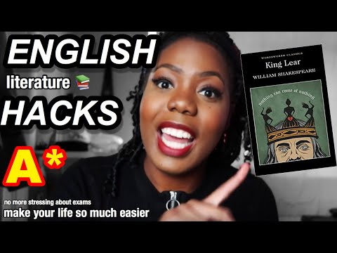ENGLISH HACKS   Last Minute Revision and Exam tips that will Boost your Grade!