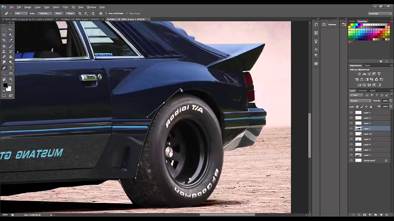Ford Mustang Fox Body Gt Enduro Madmax By 4iart Youtube