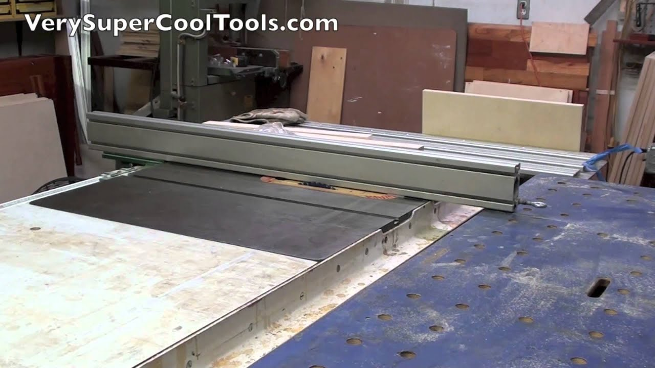 Table Saw Fence On The Left Side Of Blade Verysupercool Aluminum Extrusion