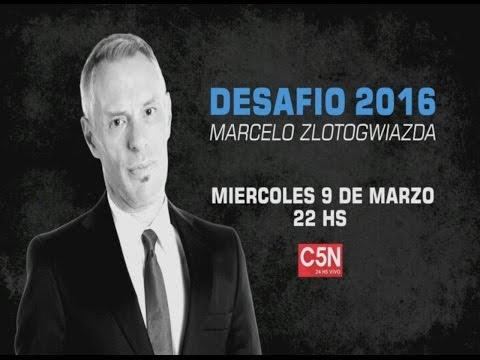 C5N - Programación: Desafío 2016 con Marcelo Zlotogwiazda