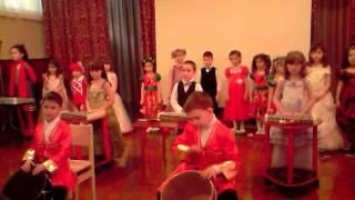 оркестр в детском саду(Городской конкурс