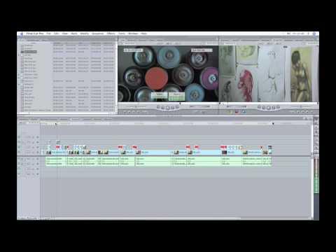 Final Cut Pro Screencast: The standard interface