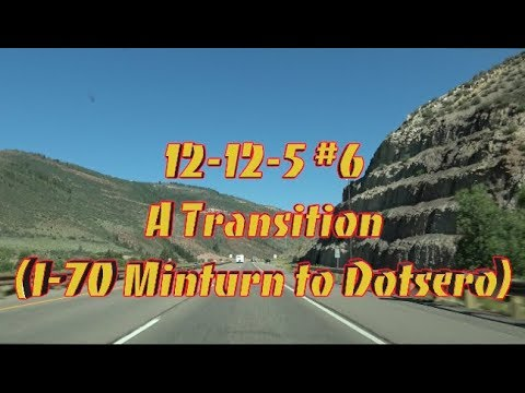 I 70 Minturn to Dotsero 12 12 5 #6