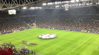 CHAMPIONS LEAGUE ANTHEM JUVENTUS V.S MANCHESTER UNITED ALLIANZ STADIUM LIVE   07.11.2018