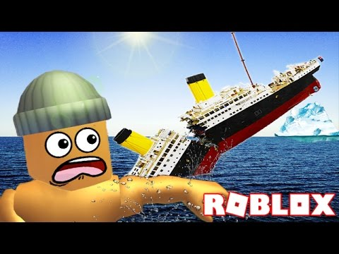 SURVIVING THE TITANIC IN ROBLOX