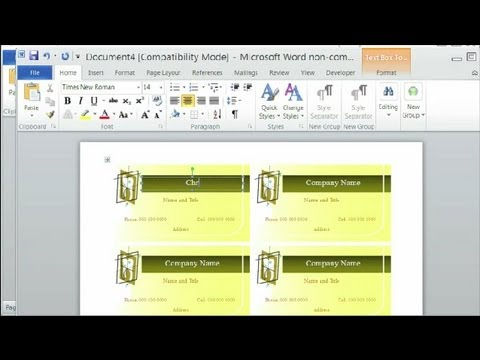 How to Change Microsoft Word to Avery Templates  Using Microsoft
