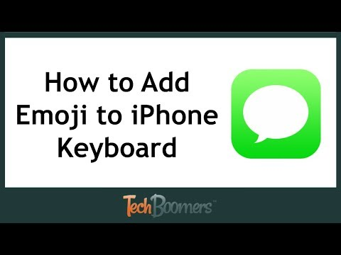 How To Add Emojis To IPhone Keyboard