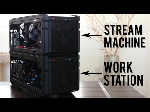 Two Epic PC Builds in the Cooler Master HAF Stacker 915R & 915F
