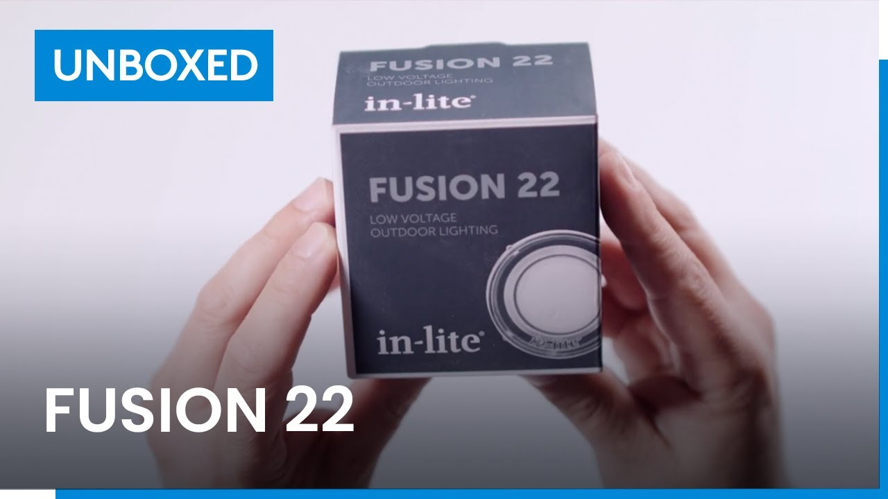 Fusion 22 Unboxed In Lite Outdoor Lighting