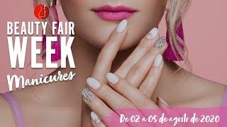 Beauty Fair Week Manicures - 05/08 - Unhas em gel formato DARTS