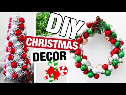 DIY Christmas Decor 2017! Fun DIY Holiday Decorations