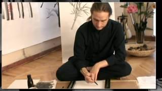 Обучение китайской живописи бамбука.Часть 9