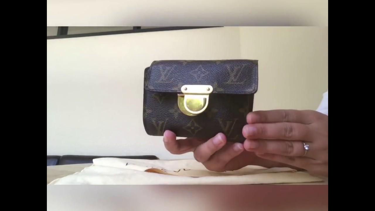 415d91c296 Louis Vuitton Monogram Koala Wallet - how to tell it's authentic ...