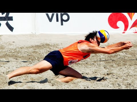 TOP » 40 Surprise Attack | Spike Fake | 2018 FIVB Beach Volleyball World Tour