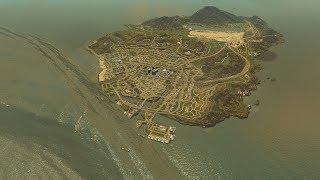 GTA 5 LOS SANTOS vs MASSIVE TSUNAMI - Cities Skylines