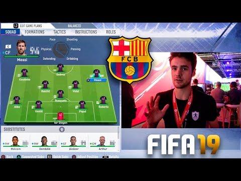 LAS MEDIAS DEL FC BARCELONA Y JUVENTUS EN FIFA 19!!