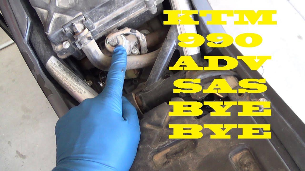 Ktm Superduke >> KTM 990 SAS Removal - YouTube